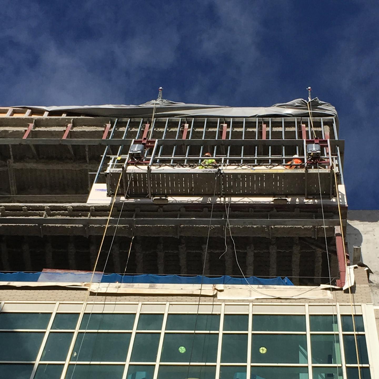Cullman Regional Medical Center New Addition Scaffold