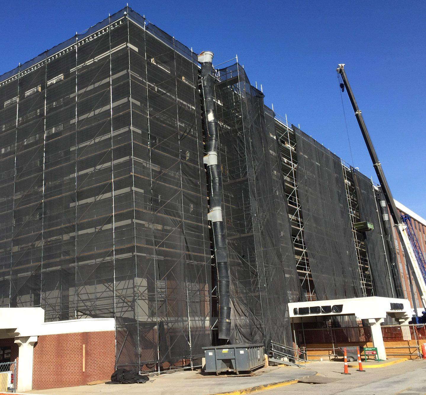 Decatur General Hospital Scaffold Renovation