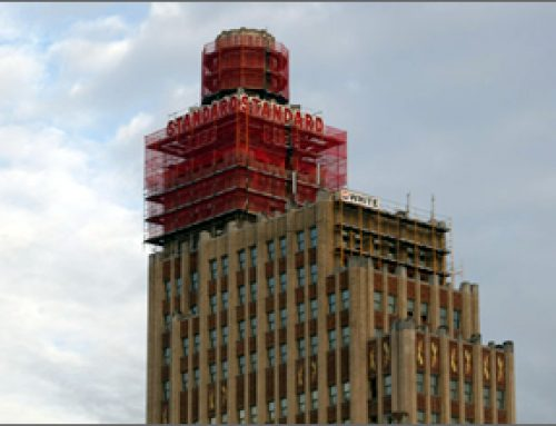 Standard Life Building scaffold