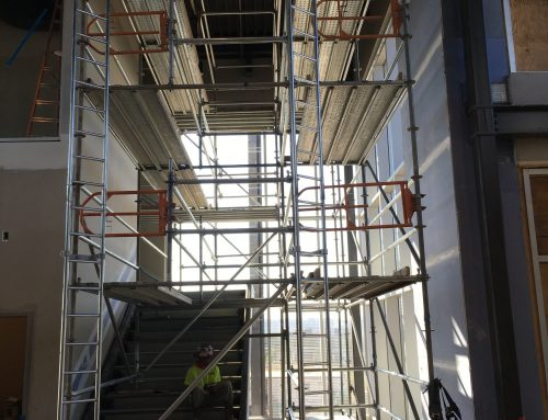 Top Golf Stairwell Project