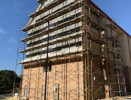 St. Catherine's Frame and Brace Scaffold