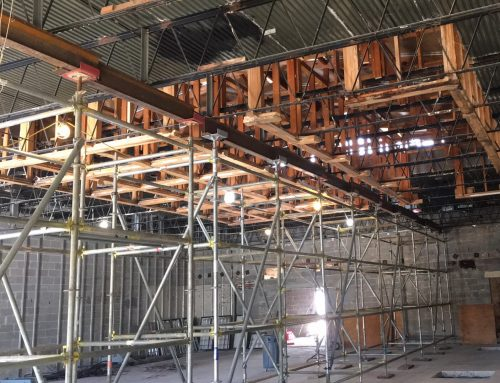 Ritchey Building Shoring Scaffold