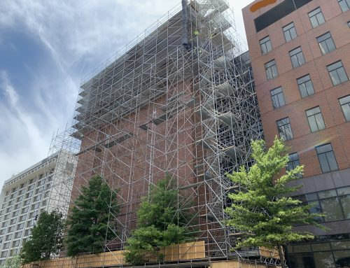 20th St and 8 Ave S scaffold (ONGOING)