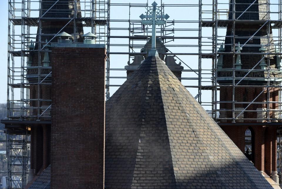 St. Pauls scaffold