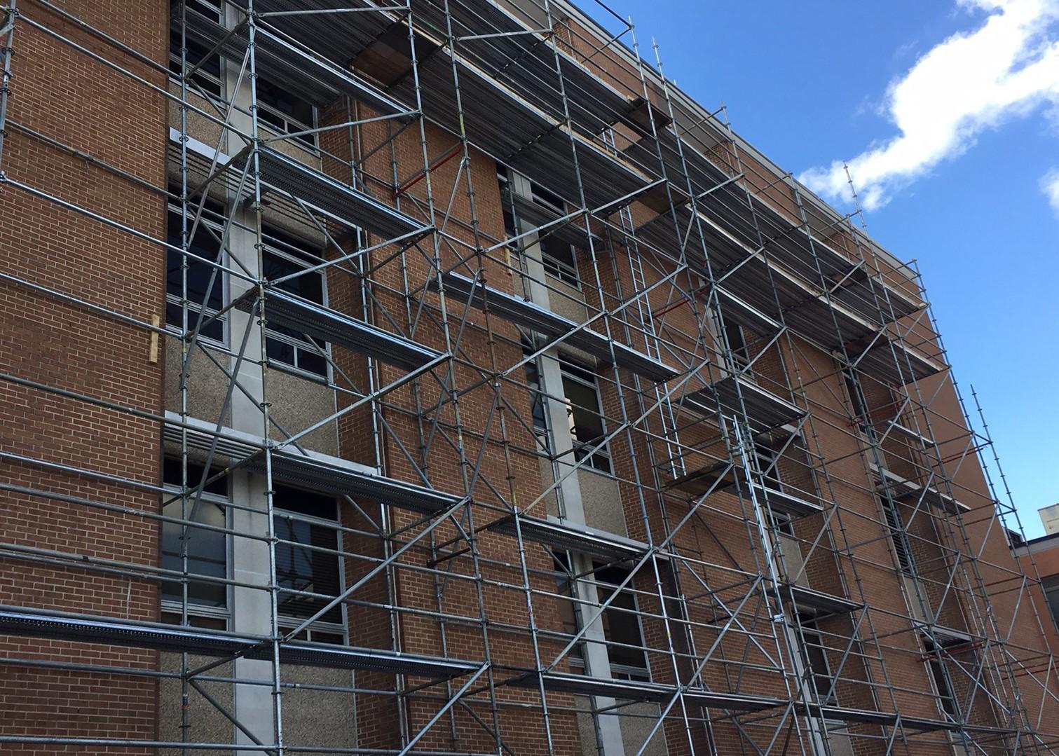 Birmingham Hospital Scaffold