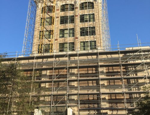 Old City Hall Tampa Scaffold