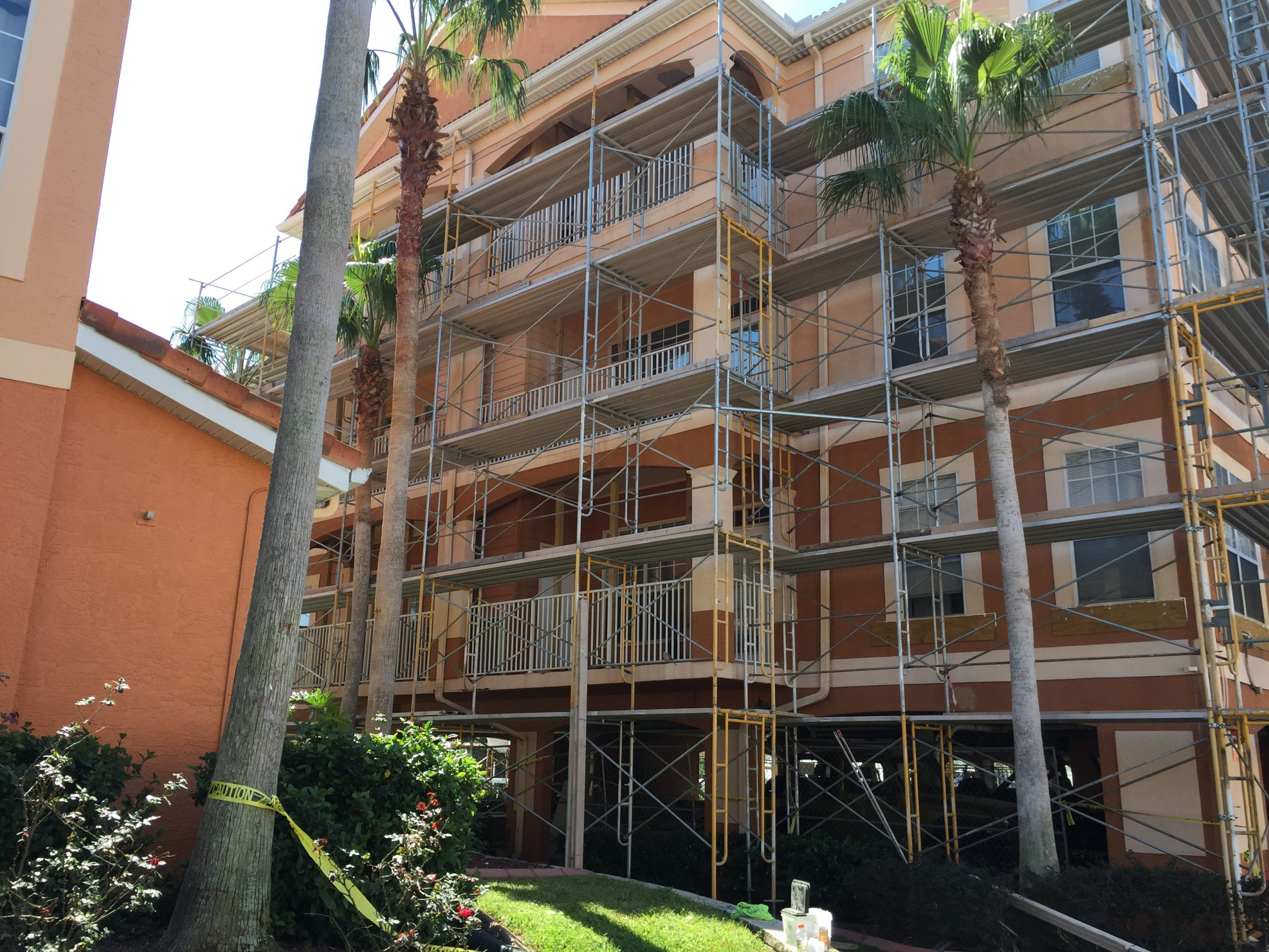 Culbreath Key Restoration Scaffold
