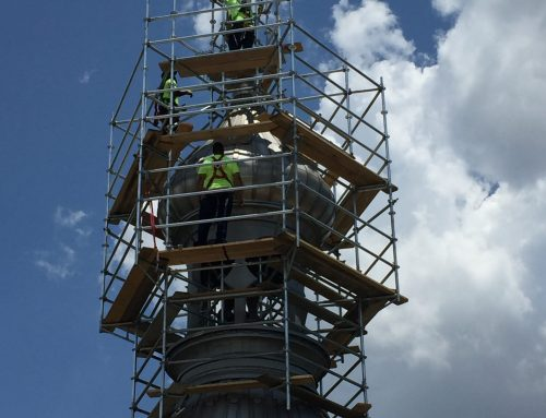 University of Tampa Minaret Restoration Scaffold
