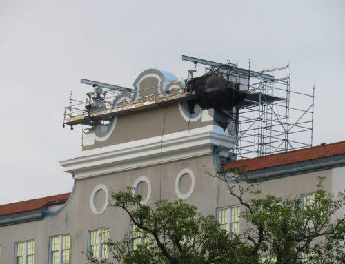 Lakeland Terrace Hotel Scaffold