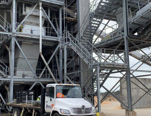 Conveyor Belt Access Scaffold
